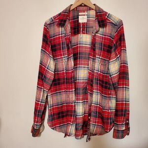 American Eagle Ahhhmazingly Soft Flannel Shirt XL